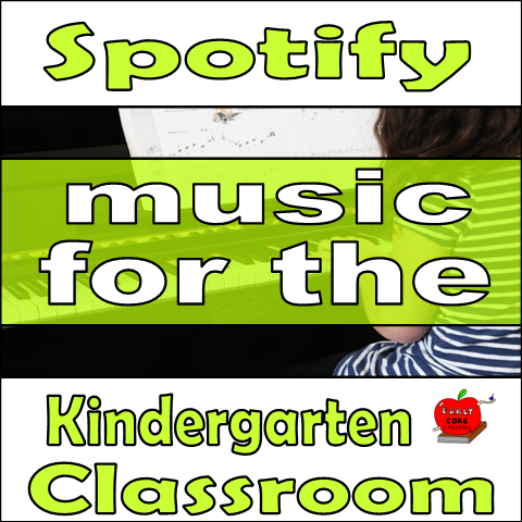 Spotify for the Kindergarten Classroom